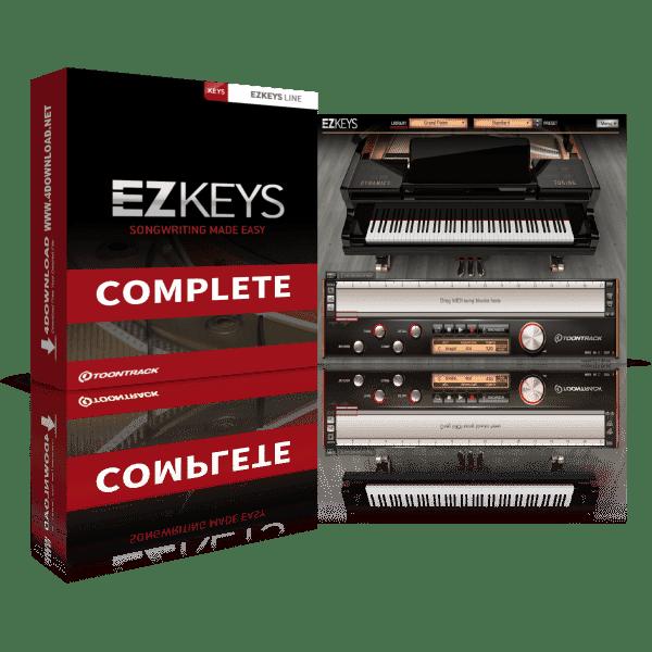 Toontrack EZkeys Complete v1.2.5 Full version