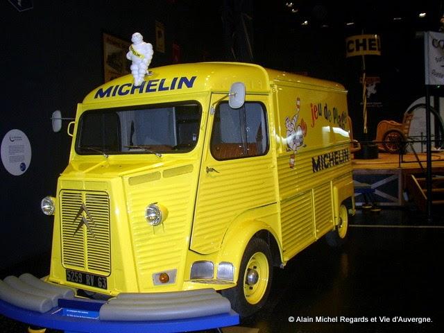 Tube Citroën, musée de l'Aventure Michelin