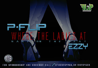 @NAIJAMUSICCITY MUSIC: P-flip (@pflip1) ft Ezzy - Where The Ladies At (Prod. By Sarz)