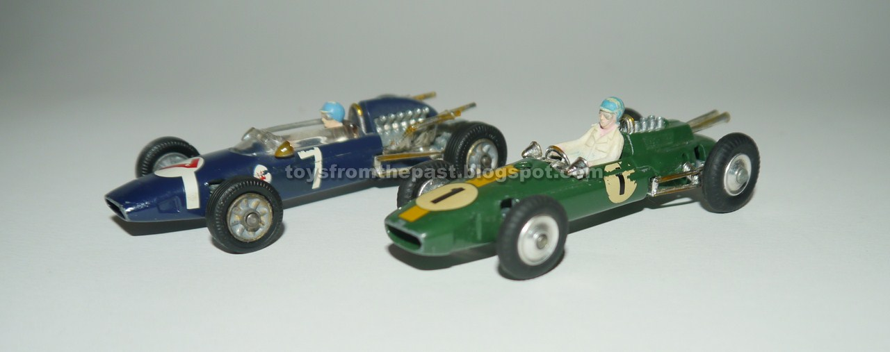 Toys From The Past 760 Corgi Lotus Climax Formula 1 And Cooper
