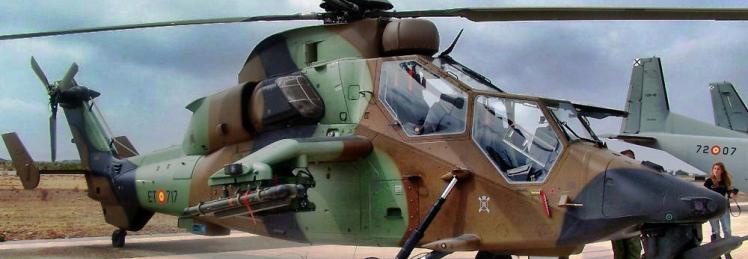 Іспанія отримала останній, 24-й гелікоптер Tiger