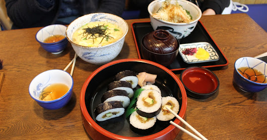 EATING MY WAY THROUGH KYOTO/OSAKA | Amelia Kay