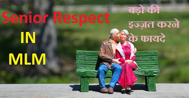 senior respect in mlm business in hindi