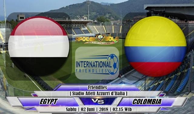 Prediksi Egypt vs Colombia 2 Juni 2018