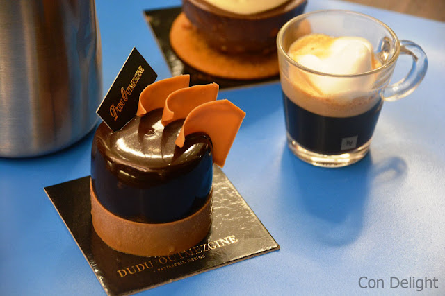 Dessert of Dudu Outmezgine in Nespresso launch