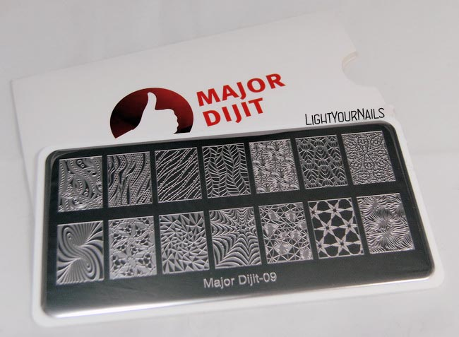 Major Dijit 09 stamping plate at Enjoy Ours
