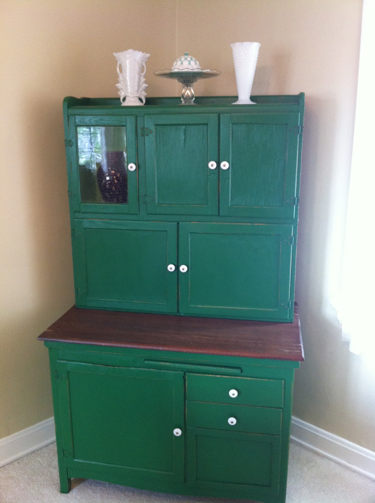 Christy S Craft Corner Of Easy Diy Projects Hoosier Cabinet