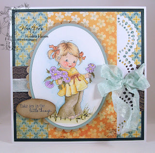 Heather's Hobbie Haven - Fistful of Flowers Card Kit