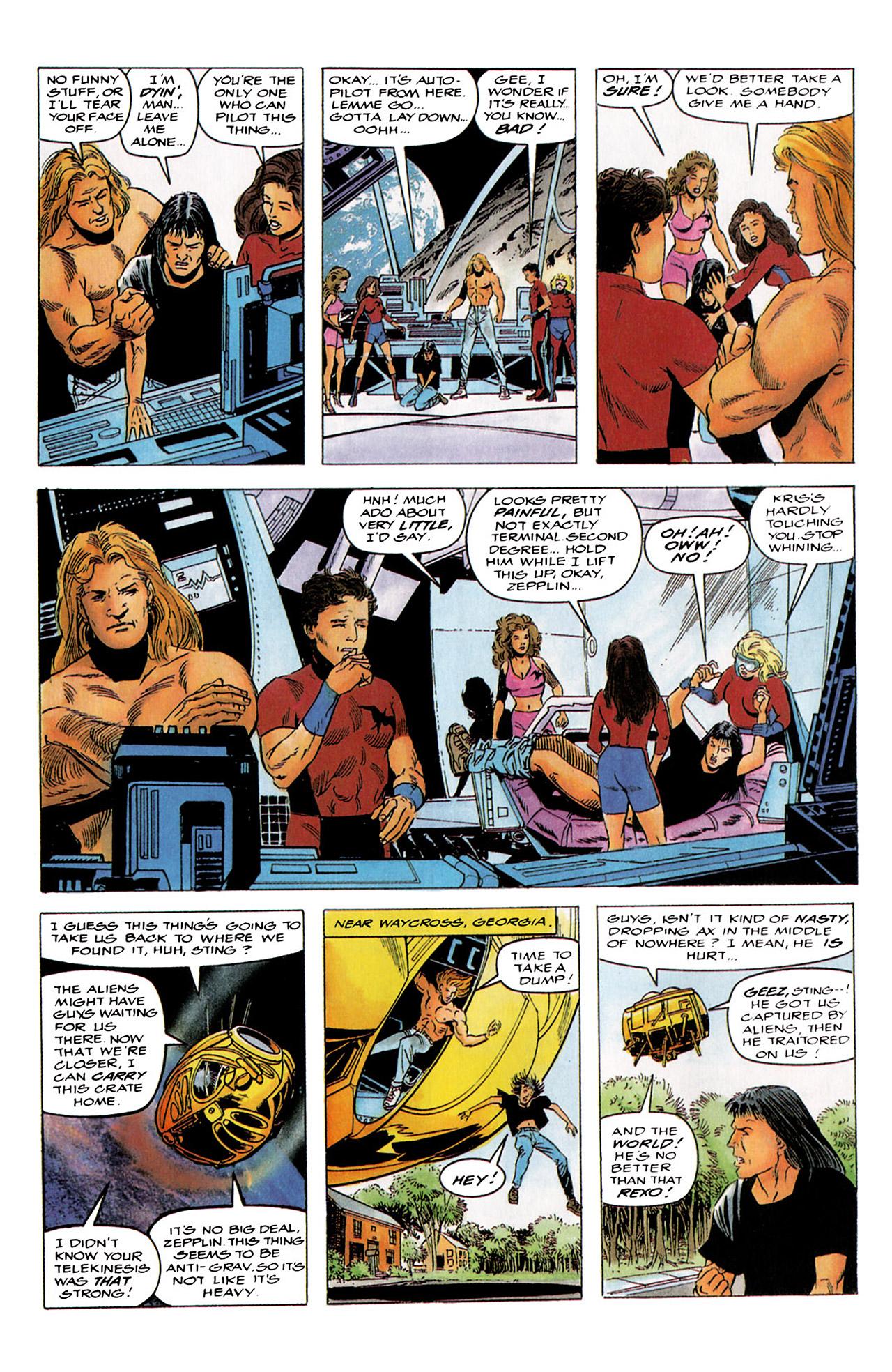 Read online Harbinger (1992) comic -  Issue #4 - 5