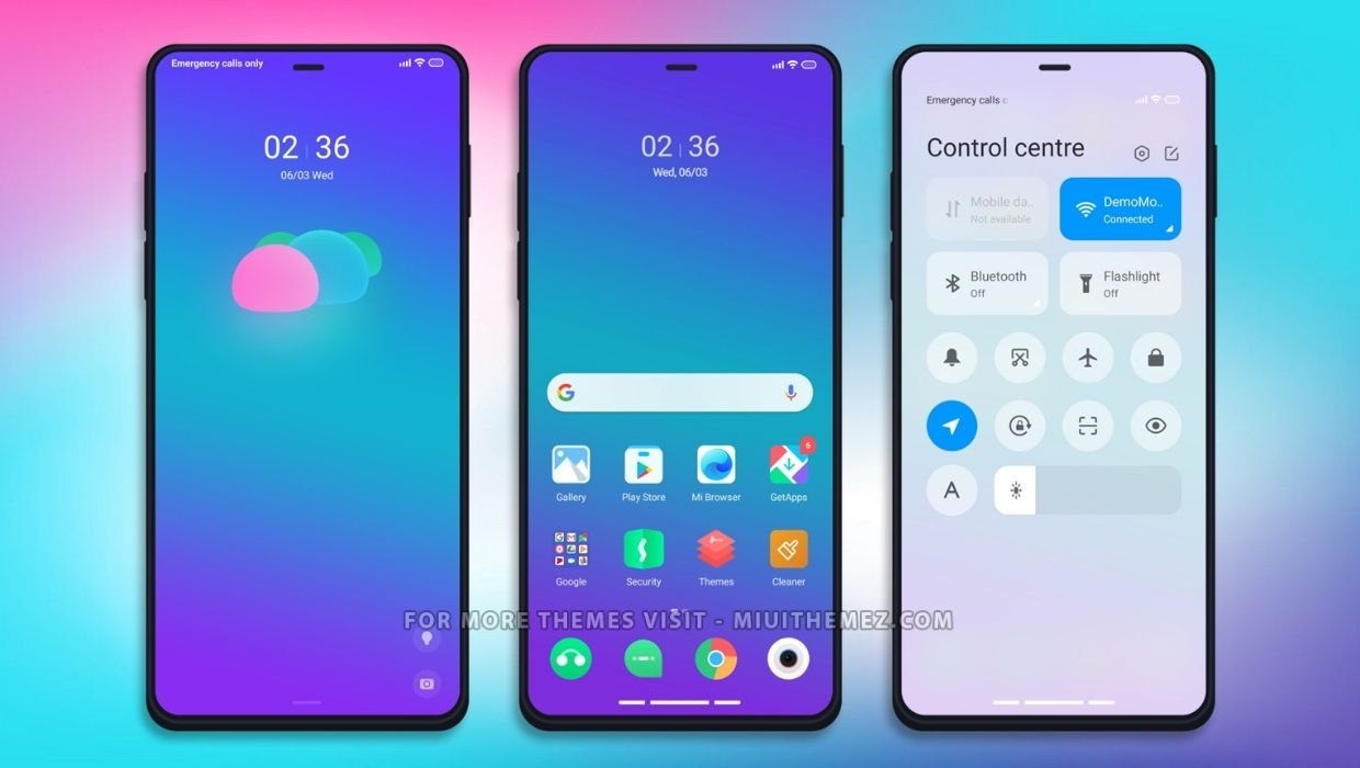 Colorful Place MIUI 12 Theme