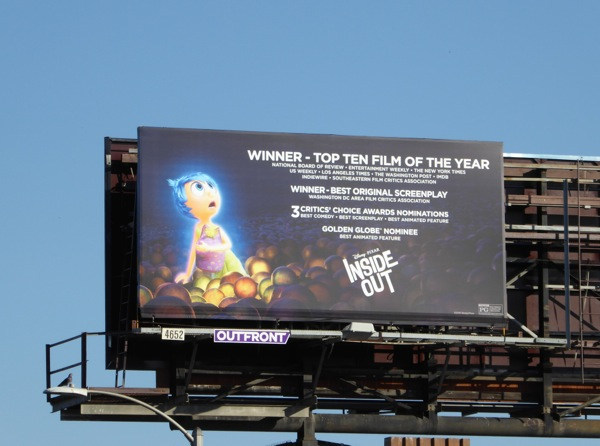 Inside Out awards billboard
