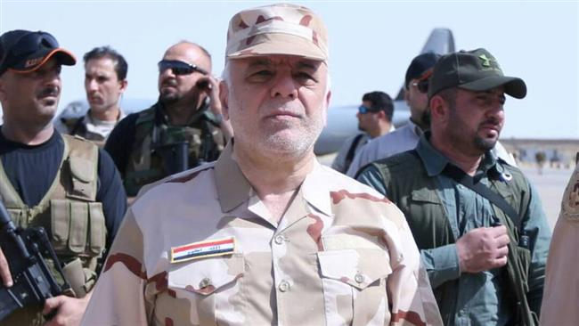 Mosul to be liberated in a few days: Iraq's Prime Minister Haider al-Abadi