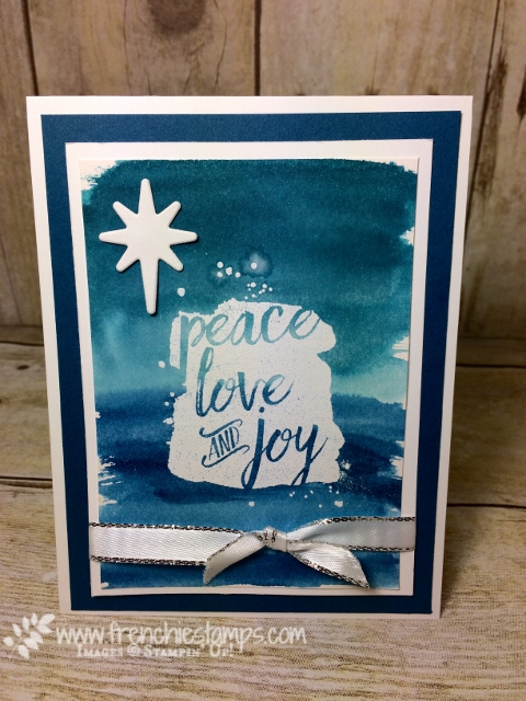 Every Good Wishes, Watercolor Wash, Stampin Up!, Frenchiestamps, Free print Out,