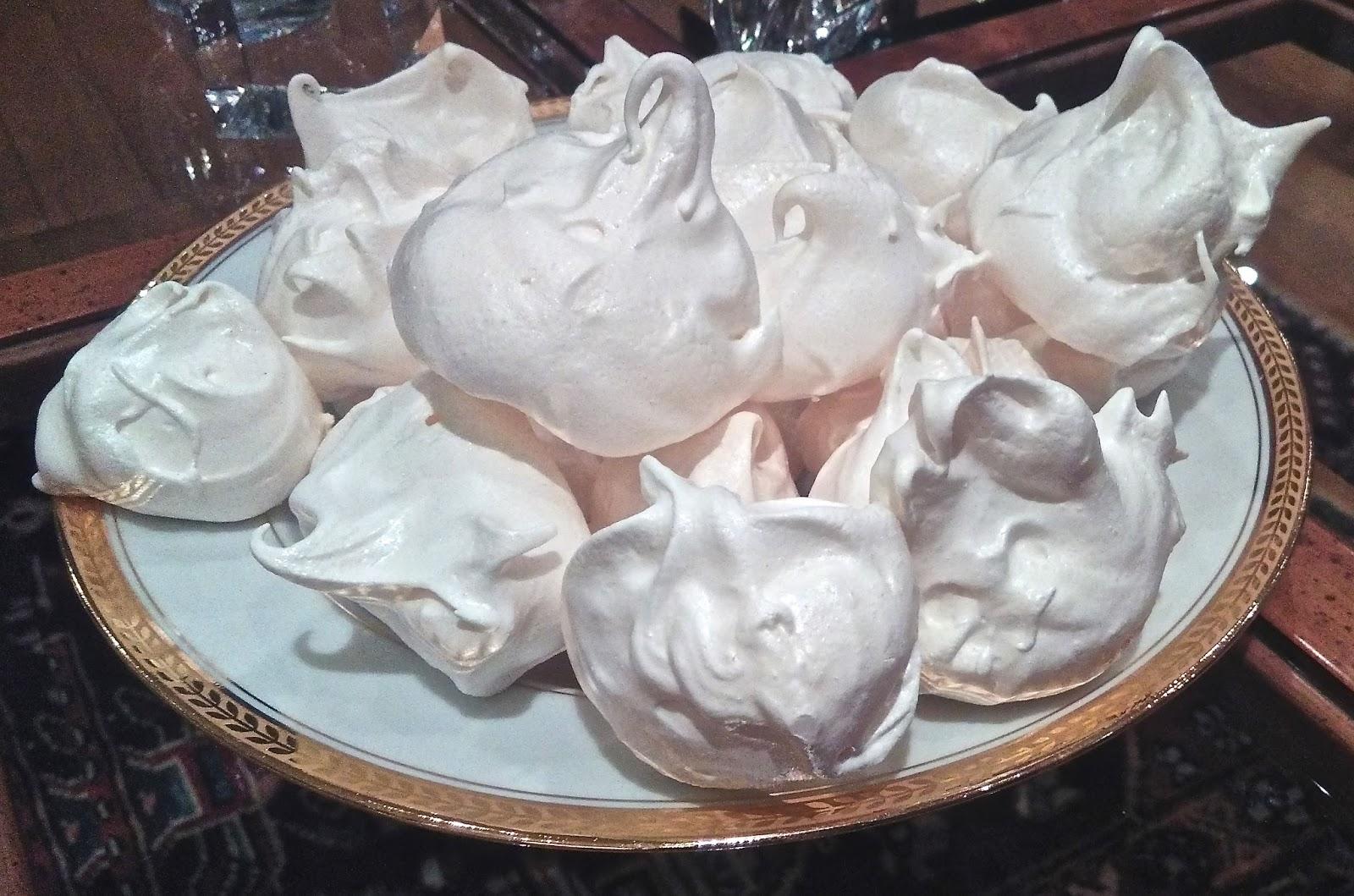 Marie j art de vivre mes premi res meringues - Recette meringue pour les nuls ...
