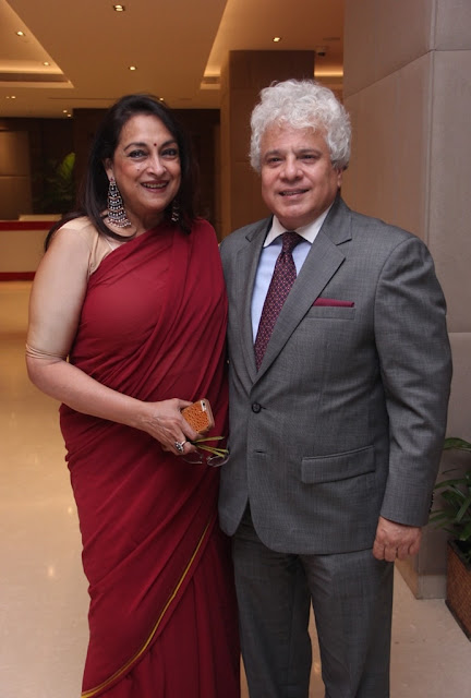 Naina Balsavar and Suhel Seth