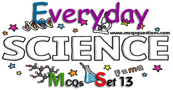 Everyday Science MCQs with Answers Set 13