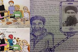 Gambar Iseng di Buku Matpel Saat Siswa Lagi Bosen
