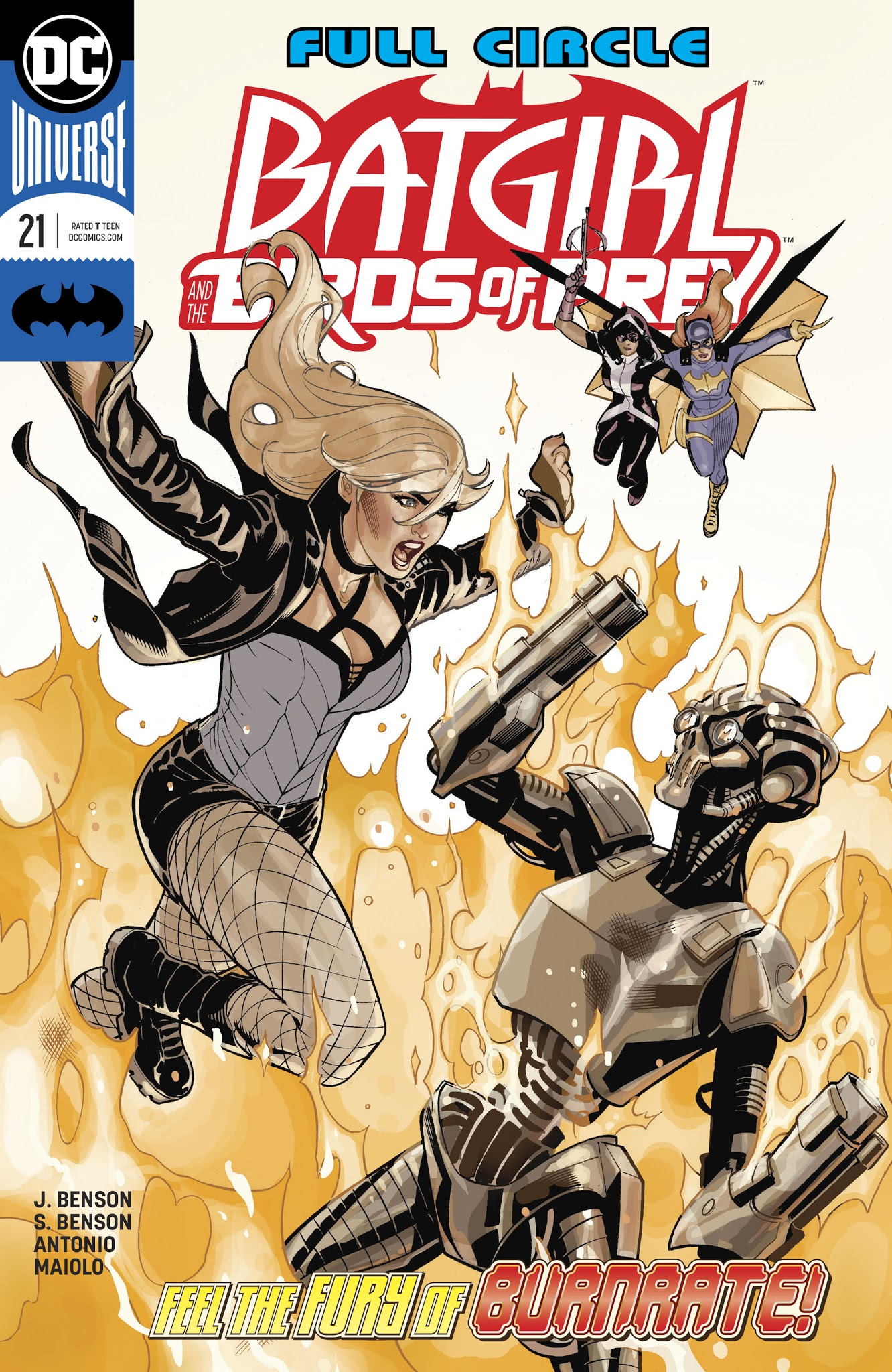 Batgirl and the Birds of Prey 21 Page 1