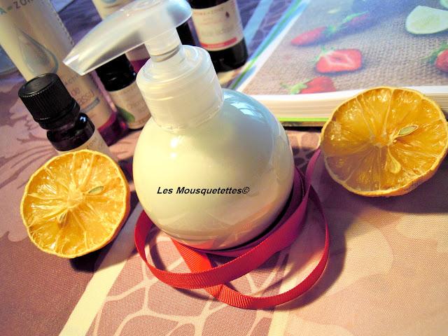 Smoothie de Douche terminé plus cas essayer - Blog beauté Les Mousquetettes©