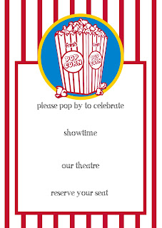 free download for printable party invitation by Lorrie Everitt for CreativeBag.com
