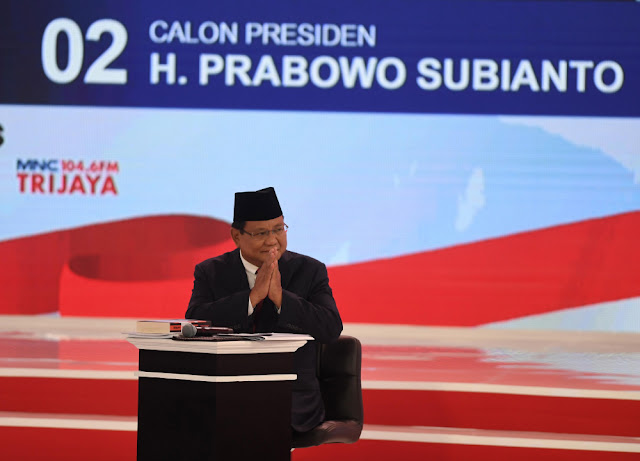 Diserang Di Debat, Prabowo Makin Banjir Simpati