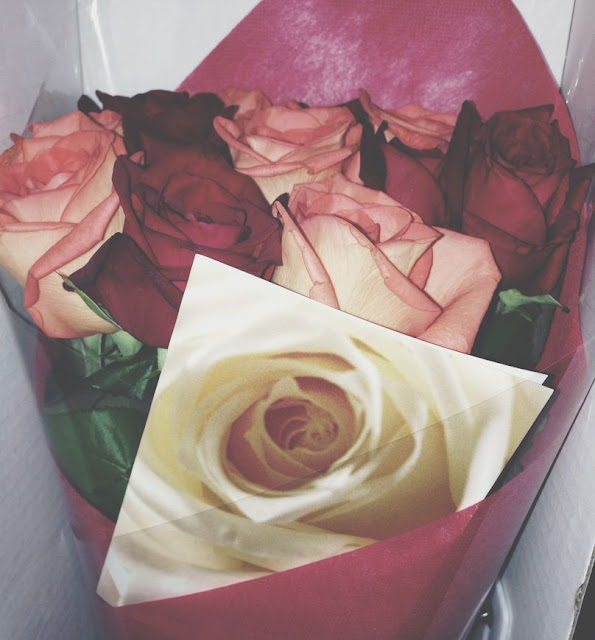 Bouquet of roses from Island Rose