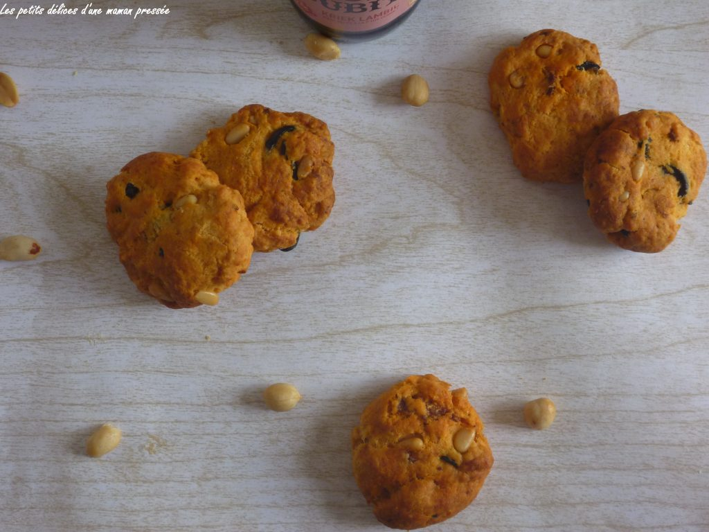 les petits delices d 39 une maman pressee cookies au chorizo. Black Bedroom Furniture Sets. Home Design Ideas