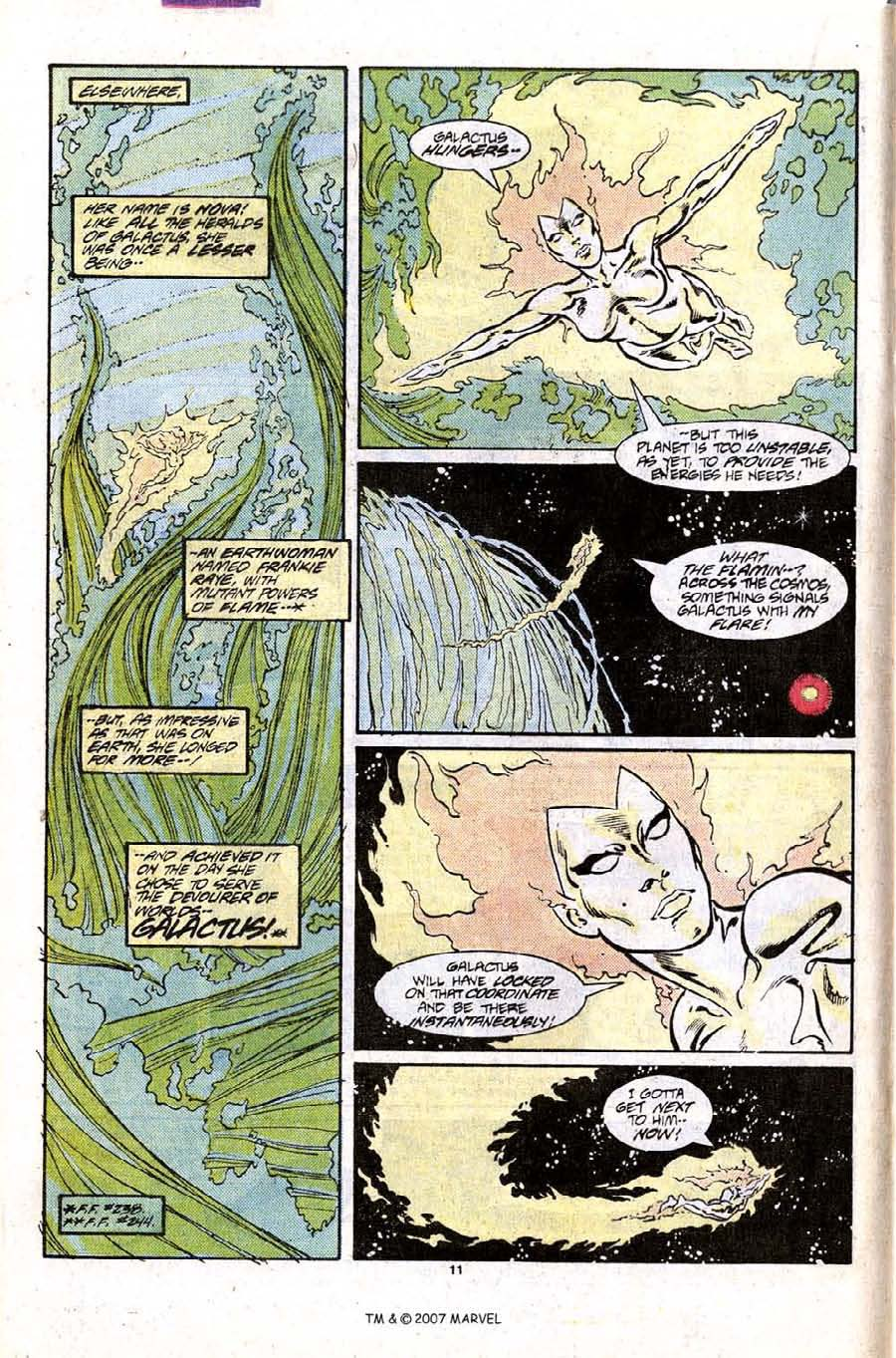 Read online Silver Surfer (1987) comic -  Issue #9 - 16