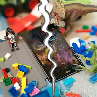 Zerrissenes Bild: Asus ZenPad im Kinderzimmer