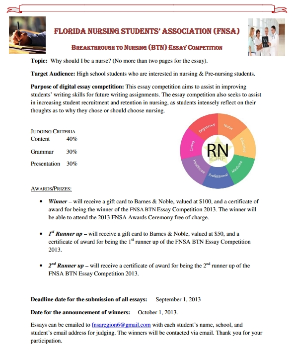 Online essay writing competitions 2013 nba