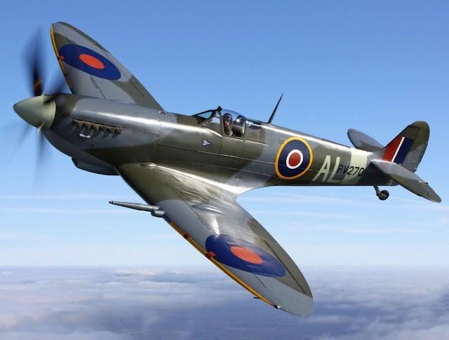 Το μαχητικό Spitfire έρχεται στους Ελληνικούς αιθέρες-Τον Οκτώβριο στο αεροδρόμιο Τατοΐου