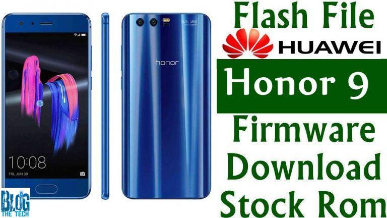 Huawei Honor 9 (2019) STF-AL00 Firmware Flash Download
