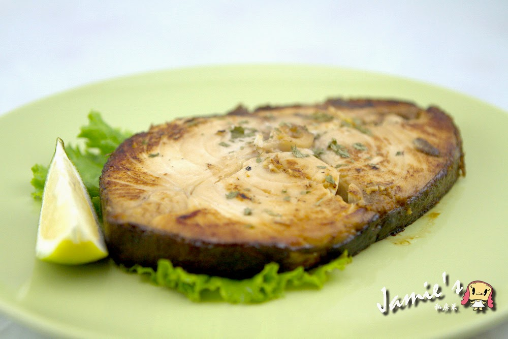 Jamie's Food-香烤味噌油魚 Grill Oilfish with Miso