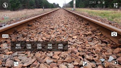 Tampilan Aplikasi DSLR Camera Pro