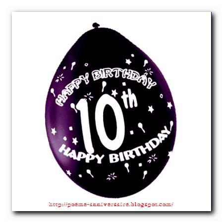 Poeme anniversaire rencontre 10 ans