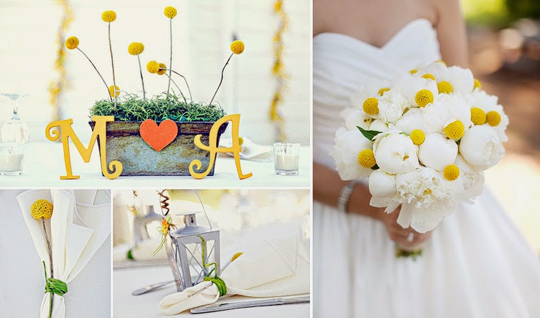 Colorful Flowers for Summer Weddings