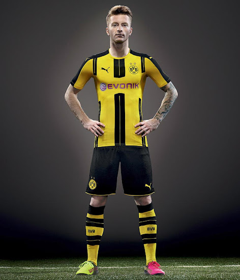 BVB Borussia Dortmund hjemmebanetrøje 2016/17