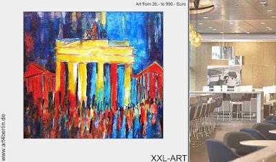 """Berlin-Galerie macht """"Modern Art"""", XXL Kunst praxisnah erlebbar!"""