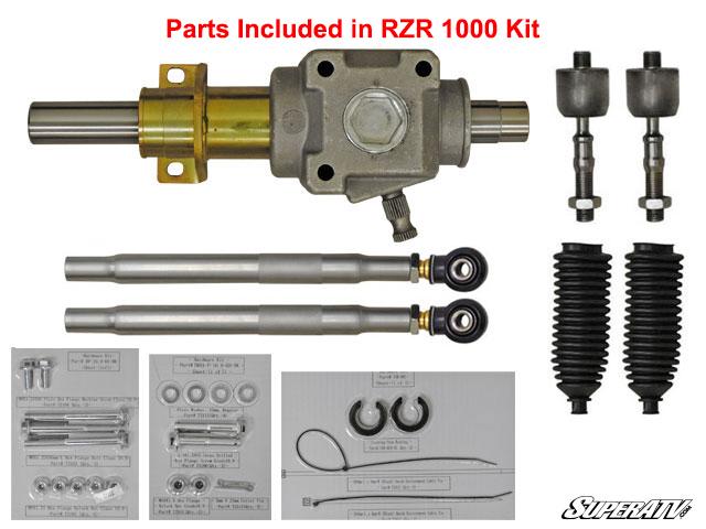 Polaris Rzr Xp 1000 Rackboss Heavy Duty Rack And Pinion