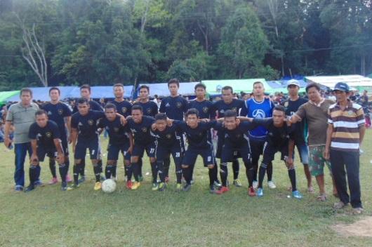 Laskar Kumpang Angkat Piala Utama Turnamen Sulang Betung Cup II 2018