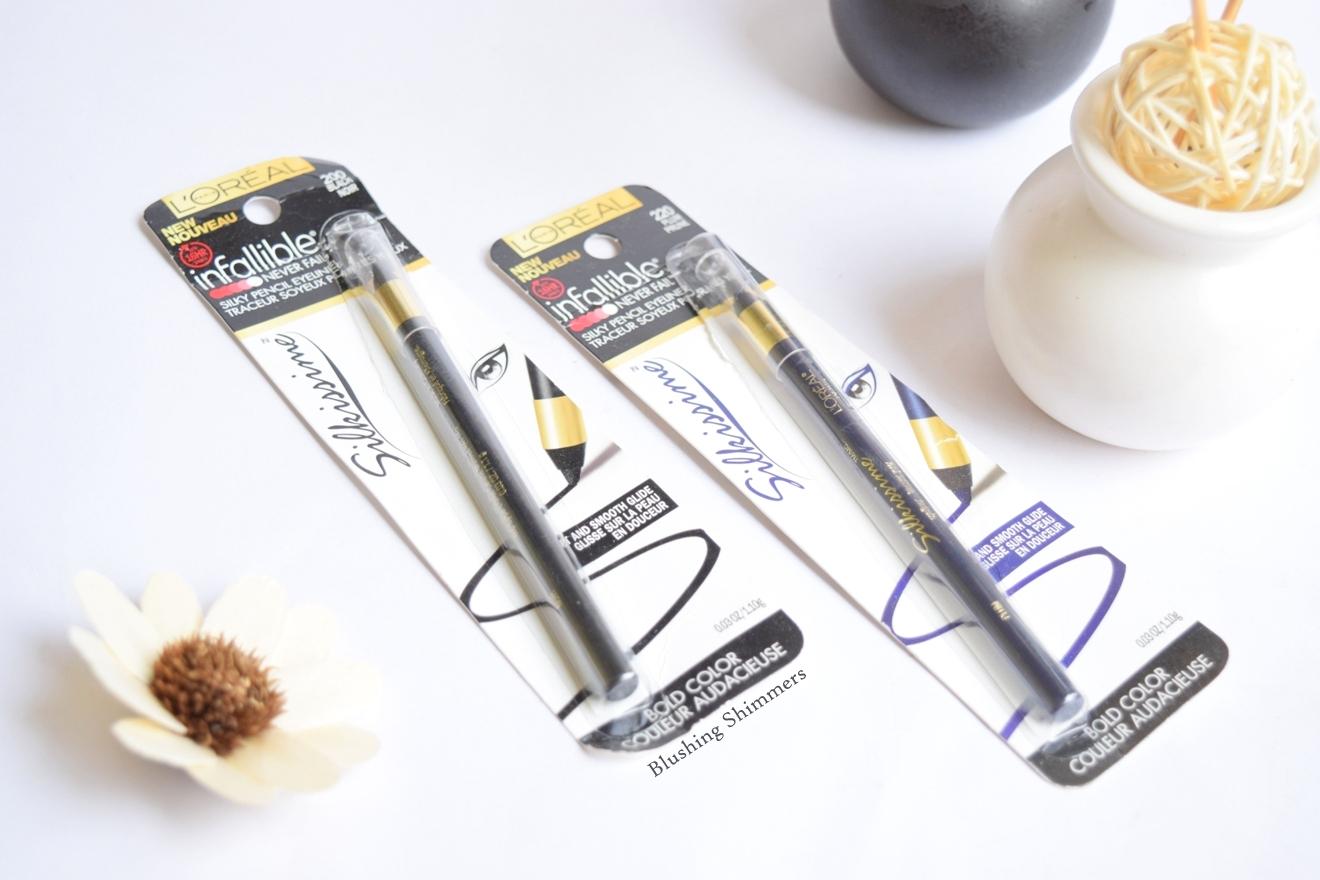 Loreal Infallible Silkissime Eyeliner : Plum