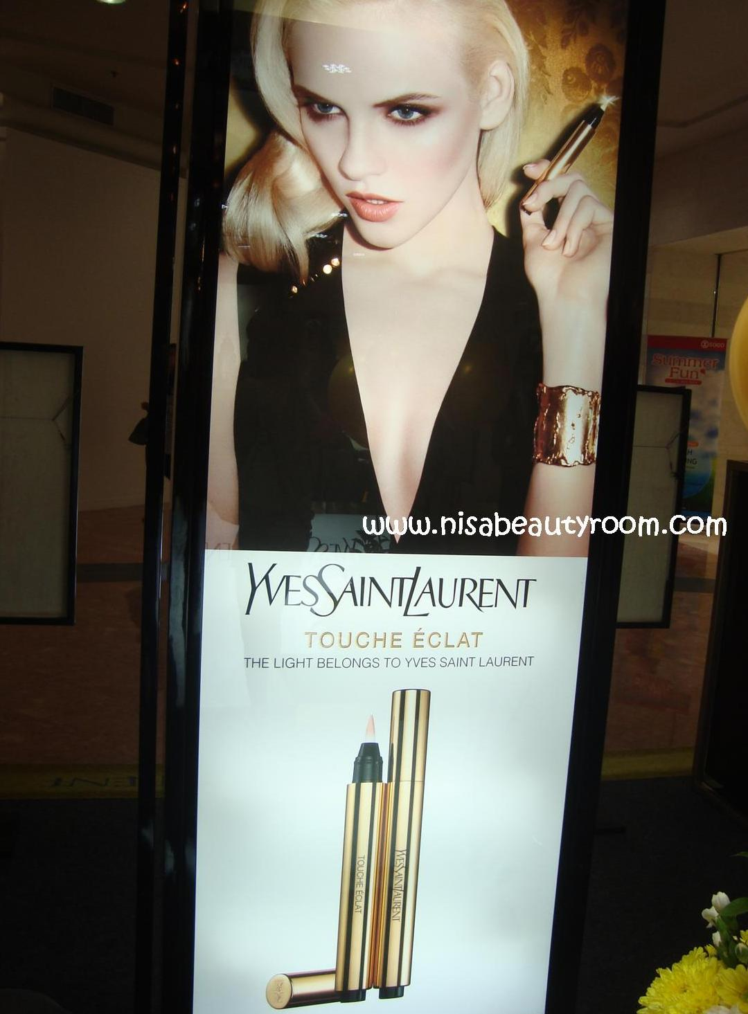 20 Years Yves Saint Laurent Touche Eclat event