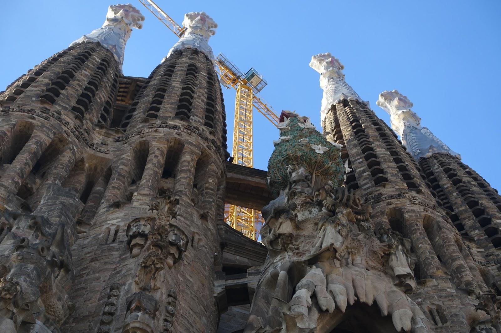 サグラダ・ファミリア (Sagrada Familia) 塔