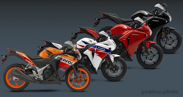 Honda CBR250R colors option