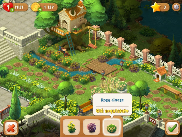Gardenscapes guida italiana alla app decorare il giardino