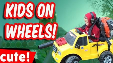 Kids On Wheels   Funniest Kids Weekly Compilation