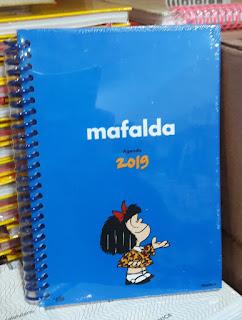 AGENDAS 2019  GRANICA Mafalda azul