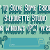 How to Solve Some Errors in Silhouette Studio for Windows (PC) version