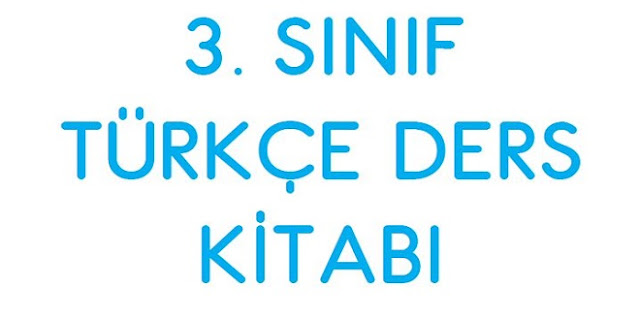 3. Sınıf Türkçe Ders Kitabı SDR Dikey Yayınları
