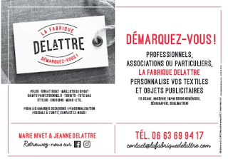 Fabrique Delattre - Cour-Cheverny - Personnalisation Textiles et objets publicitaires